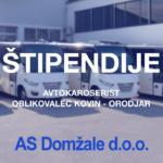 5 štipendij: AS Domžale – Avtokaroserist in Oblikovalec kovin – orodjar
