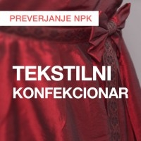 NPK: Tekstilni konfekcionar (april 2016)